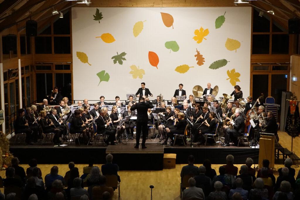 Doppelkonzert mit dem Symphonische Blasorchester Sankt Jozef Kaalheide – Kerkade unter der Leitung von Björn Bus
