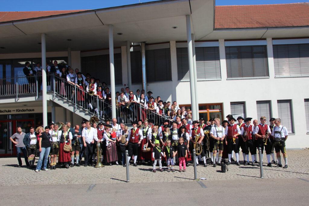Nicht nur wir feierten 200-jähriges Jubiläum, auch unsere Freundschaft mit der Musikkapelle Reit im Winkl feierte 60-jähriges Jubiläum