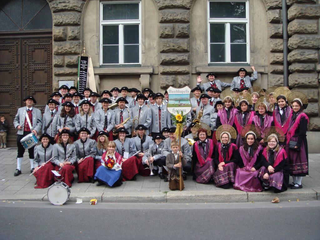 Teilnahme am Trachtenumzug des Oktoberfest in München